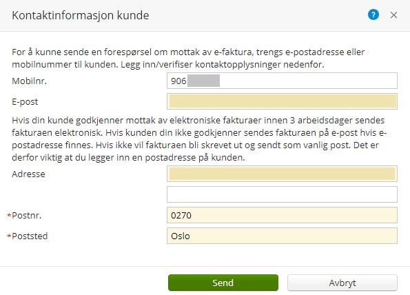 7af47b23 Send eFaktura/ Vipps Regning til privatpersoner - Visma Community