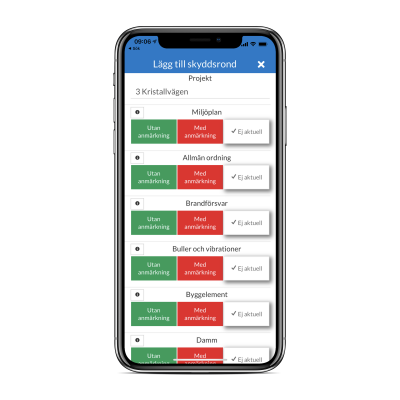 Skyddsrond 2 iOS